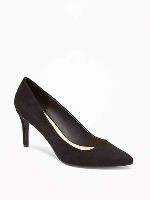 Old Navy Sueded Pumps for Women