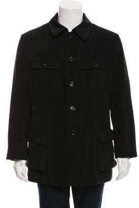 Giorgio Armani Lightweight Button-Up Jacket