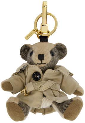 Burberry Tan Thomas Trench Coat Keychain
