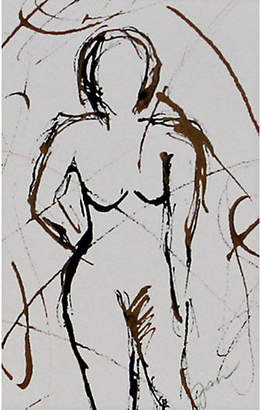 One Kings Lane Vintage Abstract Standing Nude - Campbell's Melange Art