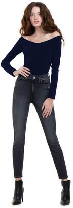 Alice + Olivia Lynetta Long Sleeve Bodysuit