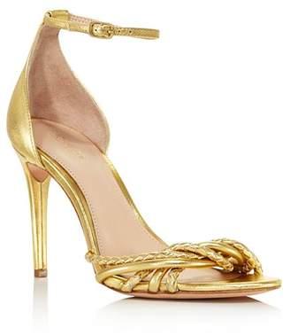 Rachel Zoe Women's Aubrey Metallic Leather High-Heel Sandals