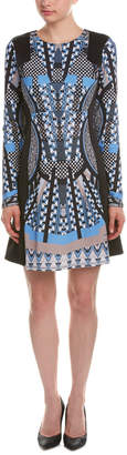 Hale Bob Jacquard A-Line Dress