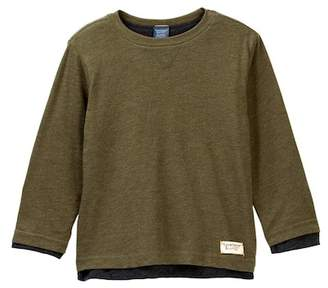 Tailor Vintage Reversible Layered Jersey Tee (Toddler & Little Boys)
