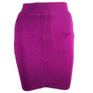 Alaia Purple Synthetic Skirts