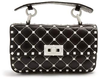 Valentino Free Rockstud Spike small quilted-leather bag