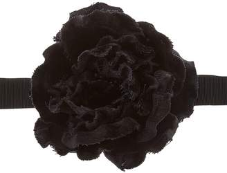 Gucci Grosgrain Necklace W/ Flower