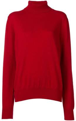 The Row turtle-neck fitted sweater