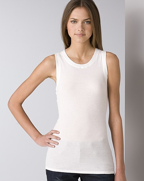 James Perse Women's Long Racerback Tank