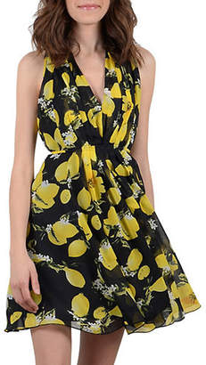 Molly Bracken Sleeveless Self-Tie Dress