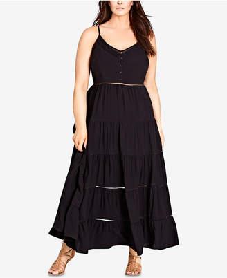 City Chic Trendy Plus Size Maxi Dress