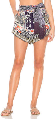 Camilla Tie Detail High Cut Short