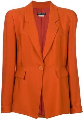Giorgio Armani Pre-Owned structured blazer