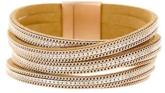 Panacea Chain & Suede Bracelet