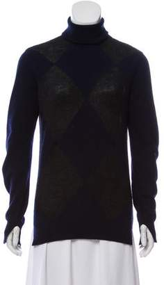Celine Wool and Alpaca-Blend Turtleneck Sweater