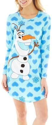 """Disney Women's Frozen Olaf """"Hearts' Nightgown , S"""