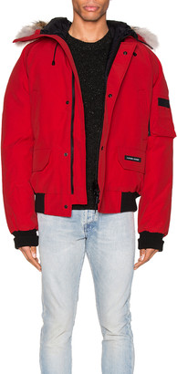 Canada Goose Chilliwack Bomber in Red | FWRD