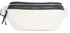 eccaff2c99d Saint Laurent Men's Marsupio Plush Belt Bag