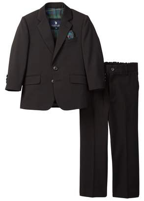 U.S. Polo Assn. Black Microtech Classic 2-Button Suit (Little Boys & Big Boys)