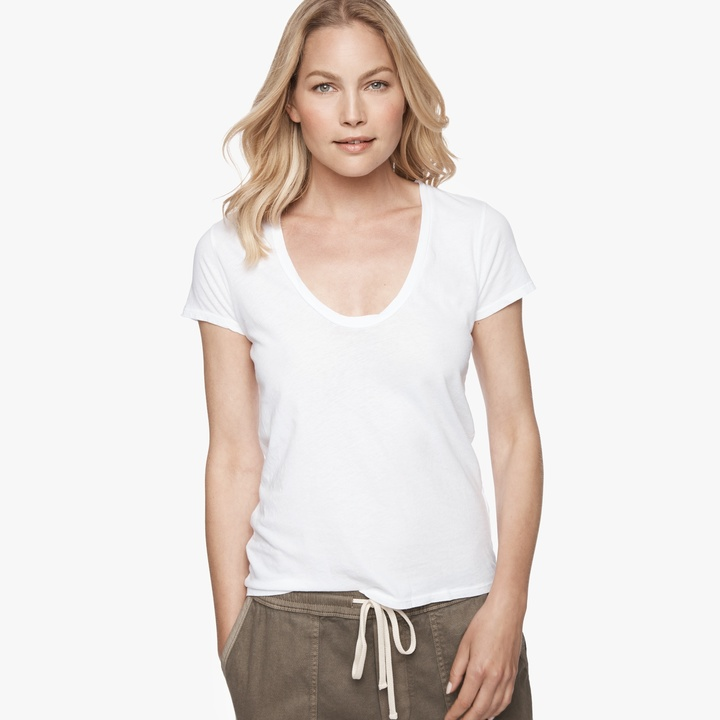 James perse relaxed casual t shirt women for James perse t shirts sale