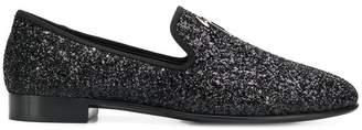 Giuseppe Zanotti Design glitter loafers
