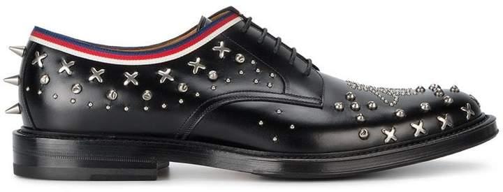 Chaussures Derby Clouté Gucci - Noir voGT6cZ2