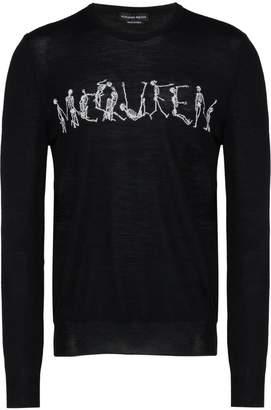 Alexander McQueen (アレキサンダー マックイーン) - Alexander McQueen Dancing Skeleton セーター