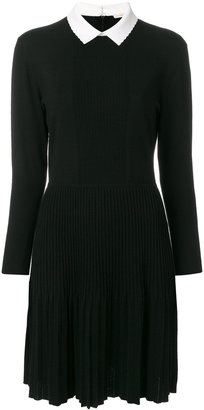 Tory Burch contrast collar sweater dress