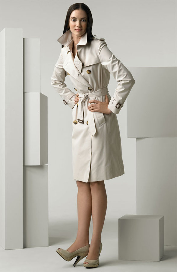 Burberry Poplin Trench Coat