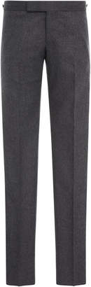 Thom Browne Slim-Fit Striped Wool Trousers