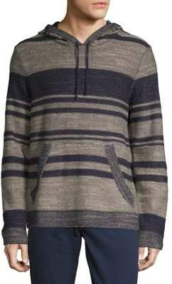 Lucky Brand Blanket Striped Hoodie
