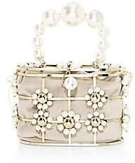 Rosantica Women's Lennon Crystal-Embellished Flower Top Handle Bag