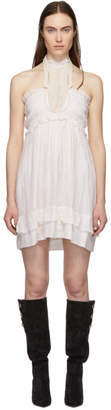 Isabel Marant White Gota Dress
