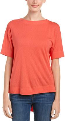 Three Dots Slub Tuxedo T-Shirt