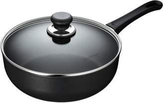 Scanpan Classic Deep Saute Pan with Lid, 4.25 qt.