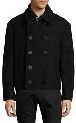 Maison Margiela Oversized Wool Peacoat