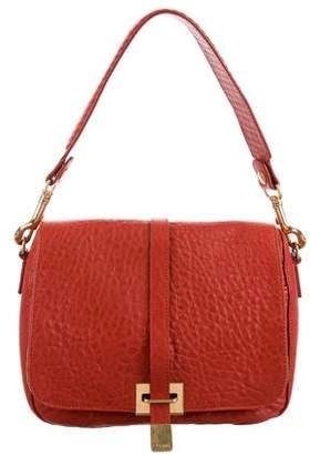 Celine Leather Crossbody Flap Bag