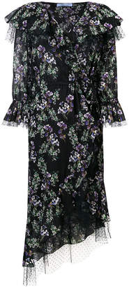 Blumarine floral fantasy dress