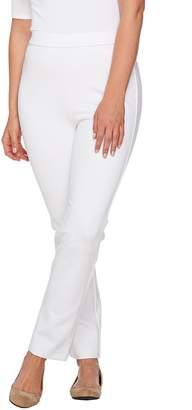 Shape Fx Regular Ponte Knit Pull-On Ankle Pants