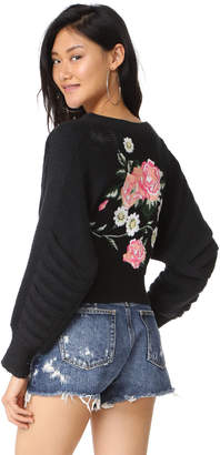 Wildfox Secret Garden Cardigan $222 thestylecure.com