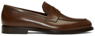 7bed5dbb347 Paul Smith Brown Wolf Loafers