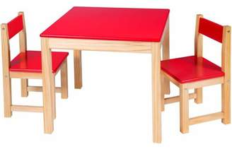 Alex Artist Studio Wooden Table and Chair Set, Multiple Colors
