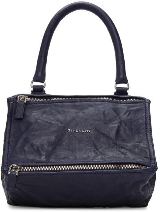 Givenchy Navy Small Pandora Bag