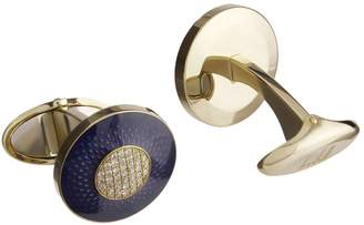 Dunhill Engine Turn Cufflinks
