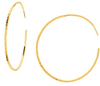 Women's Gorjana Taner Extra Large Hoop Earrings $70 thestylecure.com