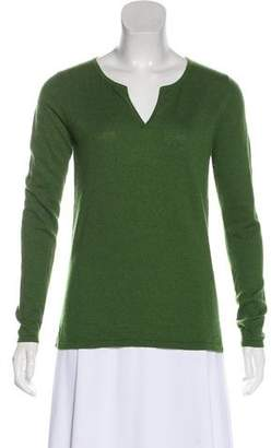 Max Mara Long Sleeve V-Neck Sweater