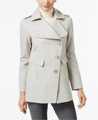 Kenneth Cole Asymmetrical Walker Coat $225 thestylecure.com