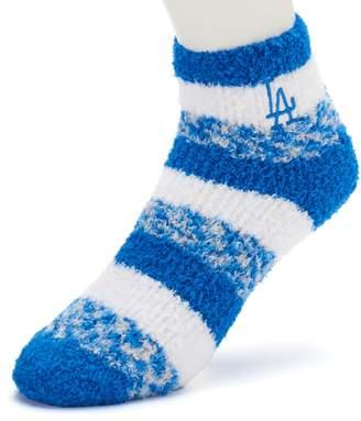 For Bare Feet Women's Los Angeles Dodgers Pro Stripe Sleep Socks