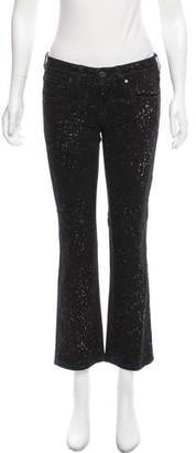 Stella McCartney Mid-Rise Printed Jeans