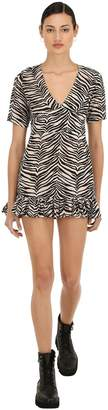 Victoria's Secret The People AMOS ZEBRA PRINT RAYON DRESS